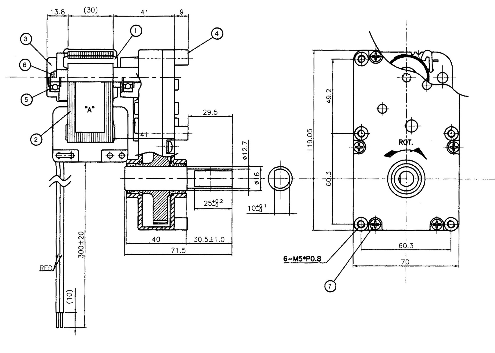 Product > C-FRAME(SHADED POLE) & GEARED MOTOR > PELLET STOVE TYPE